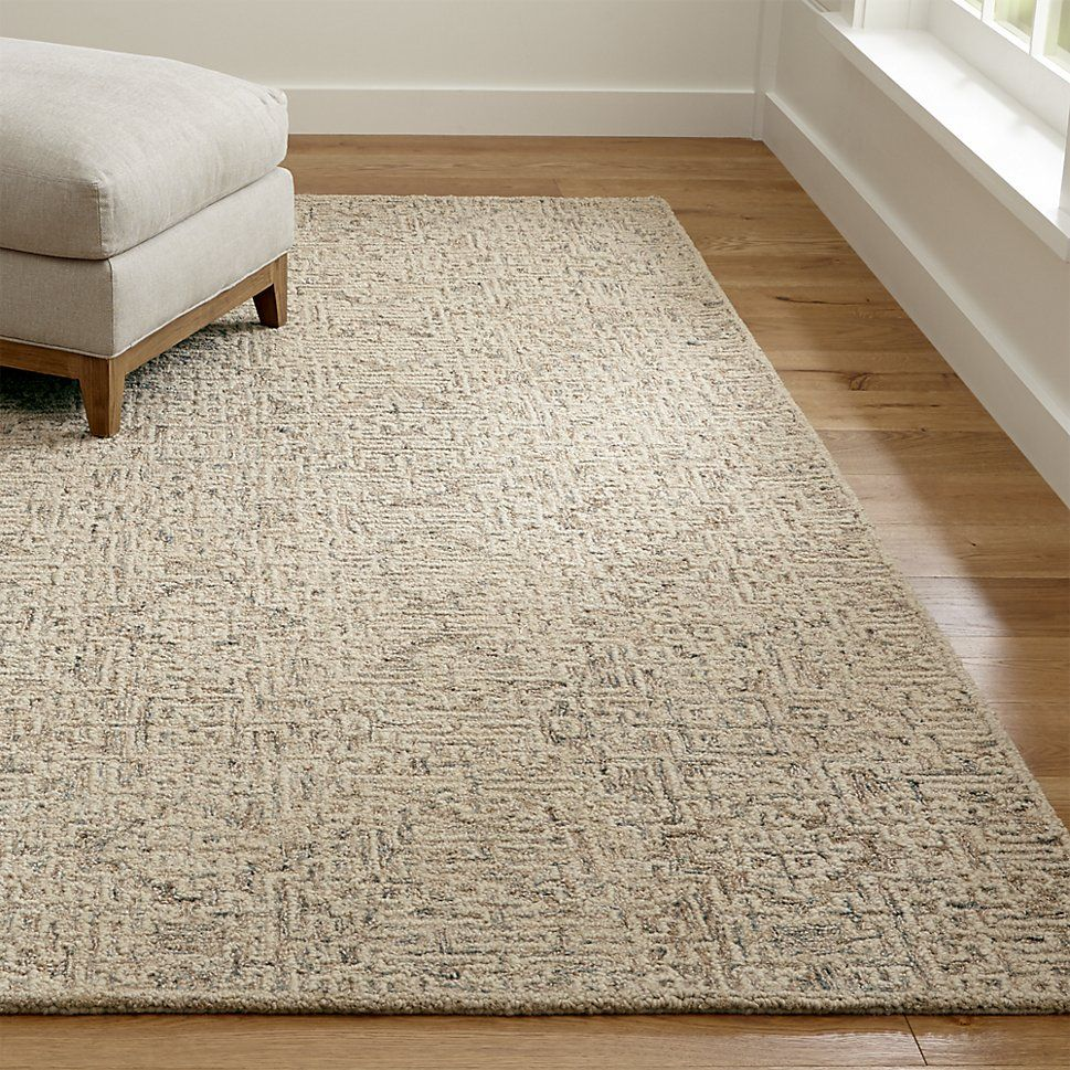 Trystan Tawny Patterned Rug Crate And Barrel Rugs Cabin Rugs Plush Carpet