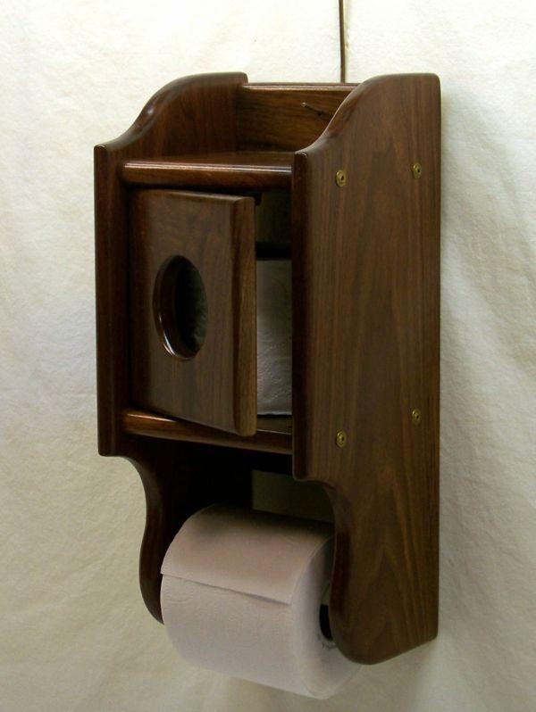 Fesselnd Bad Accessoires Badzubehör Toilettenpapierhalter Wc Toilettenhalter