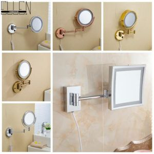 Extendable Arm Mirror Bathroom