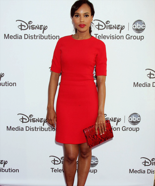 fuckyeahfamousblackgirls:    Kerry Washington at Disney Media Networks' International Upfront presentation    Black Girls Killing ItShop BGKI NOW