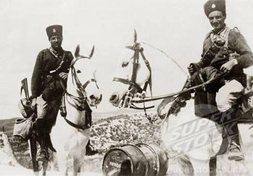 ضباط من حرس حدود شرق الأردن الشركس 1938 Historical Photos Horses Photo