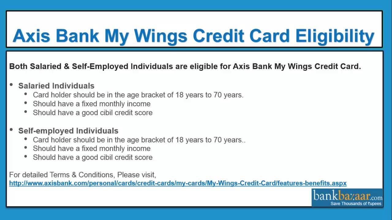 Cool how to apply for an axis bank my wings credit card check cool how to apply for an axis bank my wings credit card check more at magicingreecefo Images