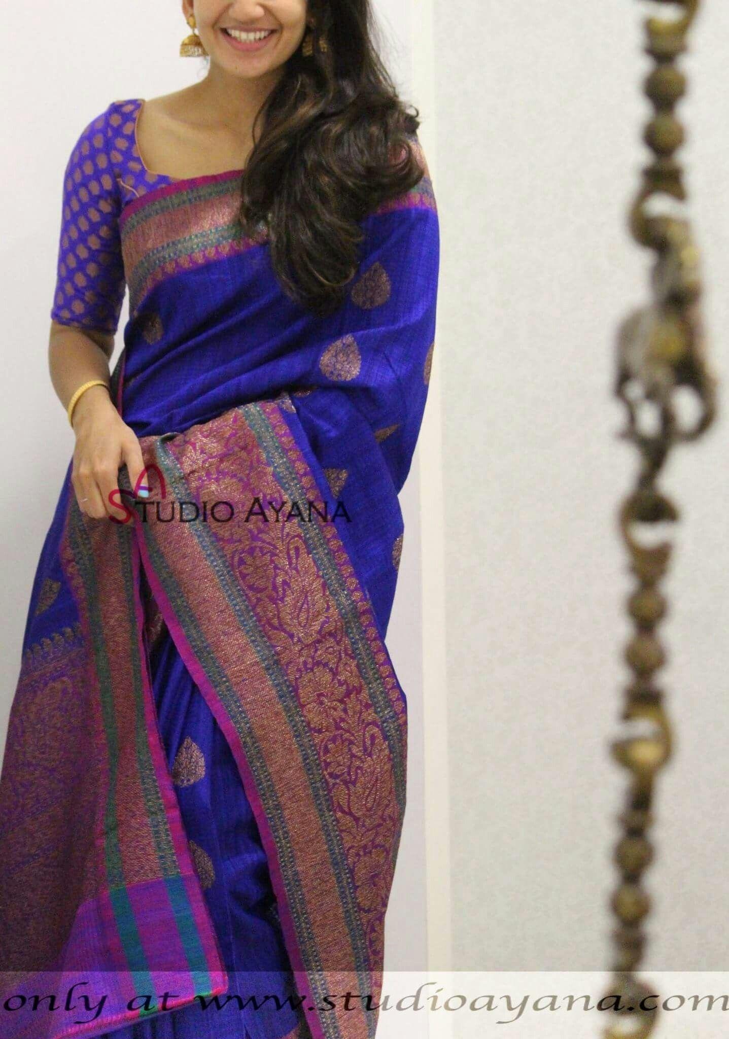 Pin de Kavvya Chandrashekar en Saree My style | Pinterest
