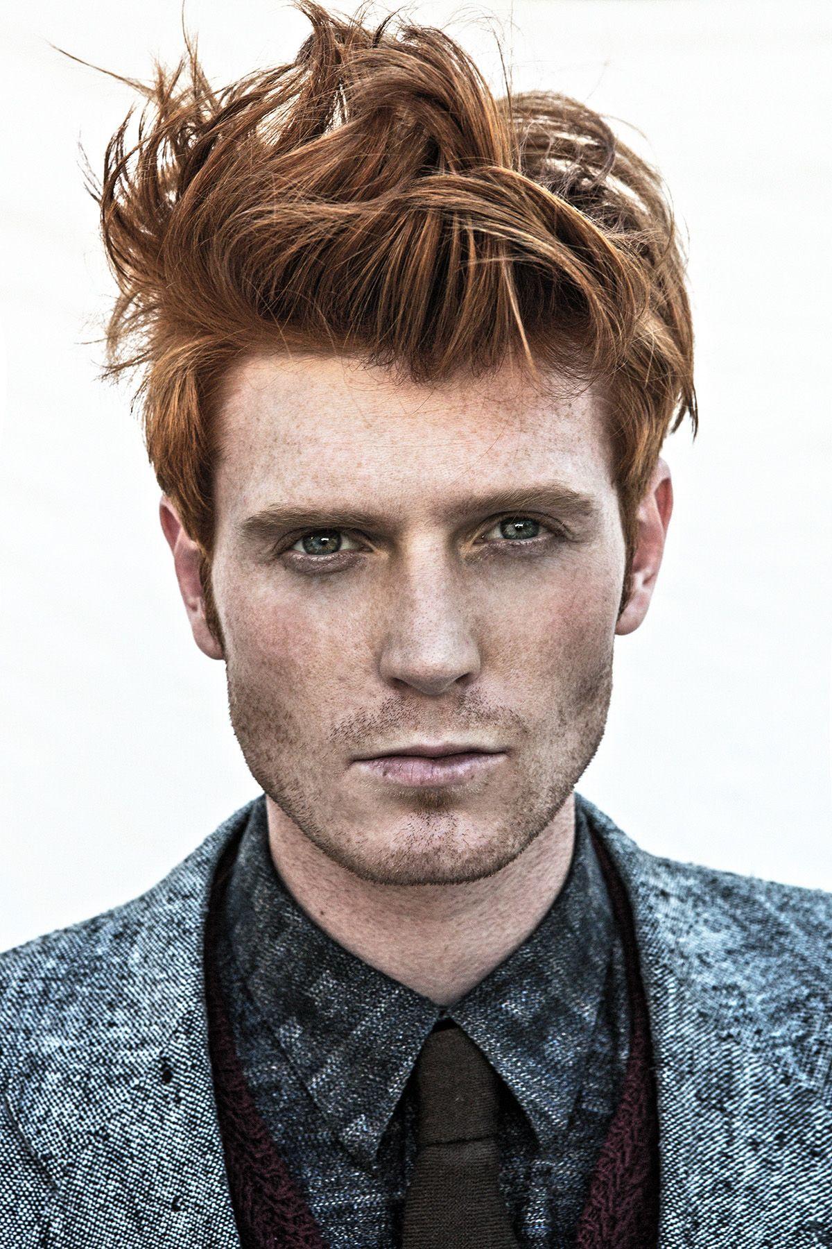 Idea Blonde male and redhead male phrase