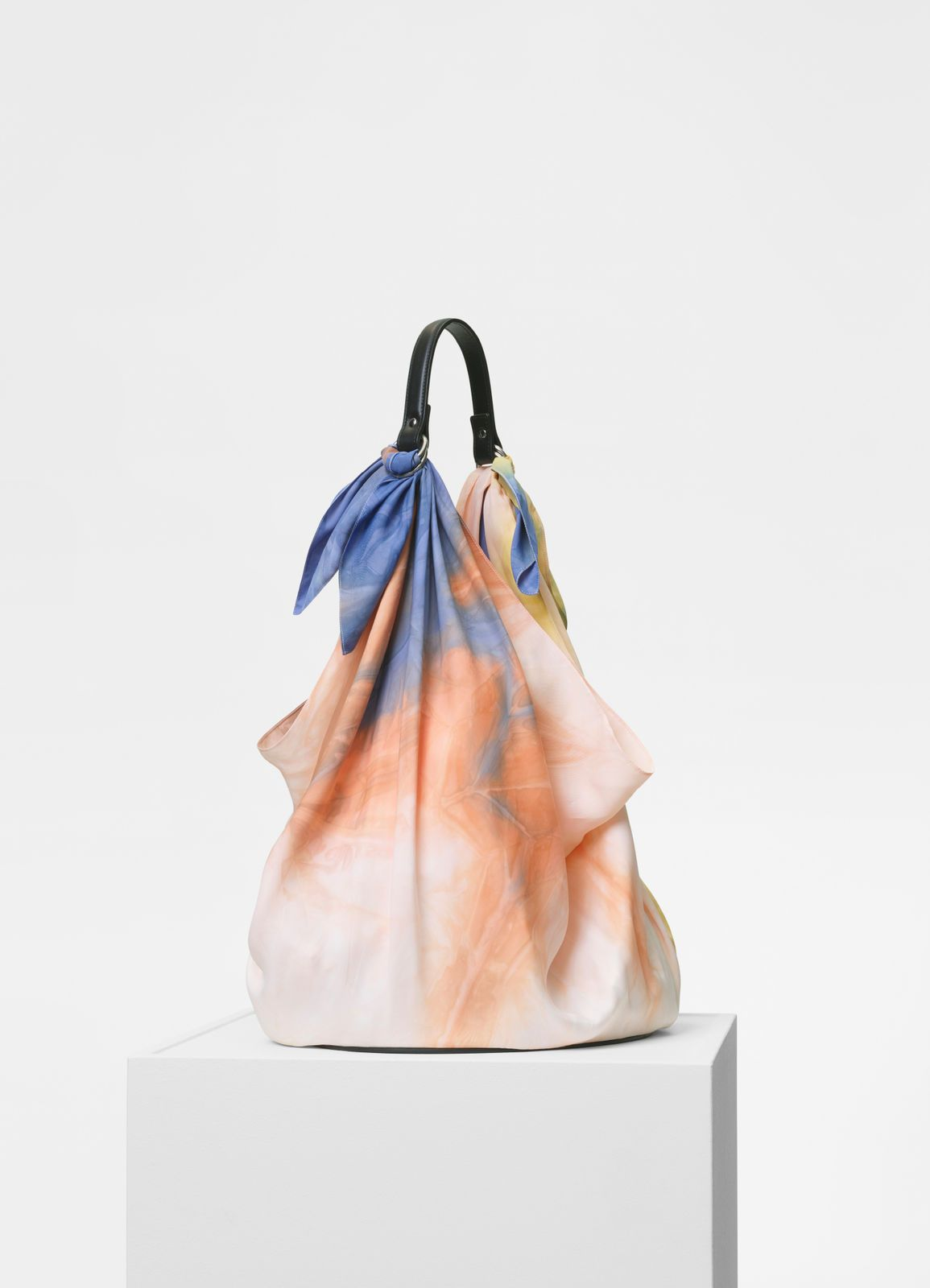 9bbc671486 Céline - Scarf bag in multicolor silk