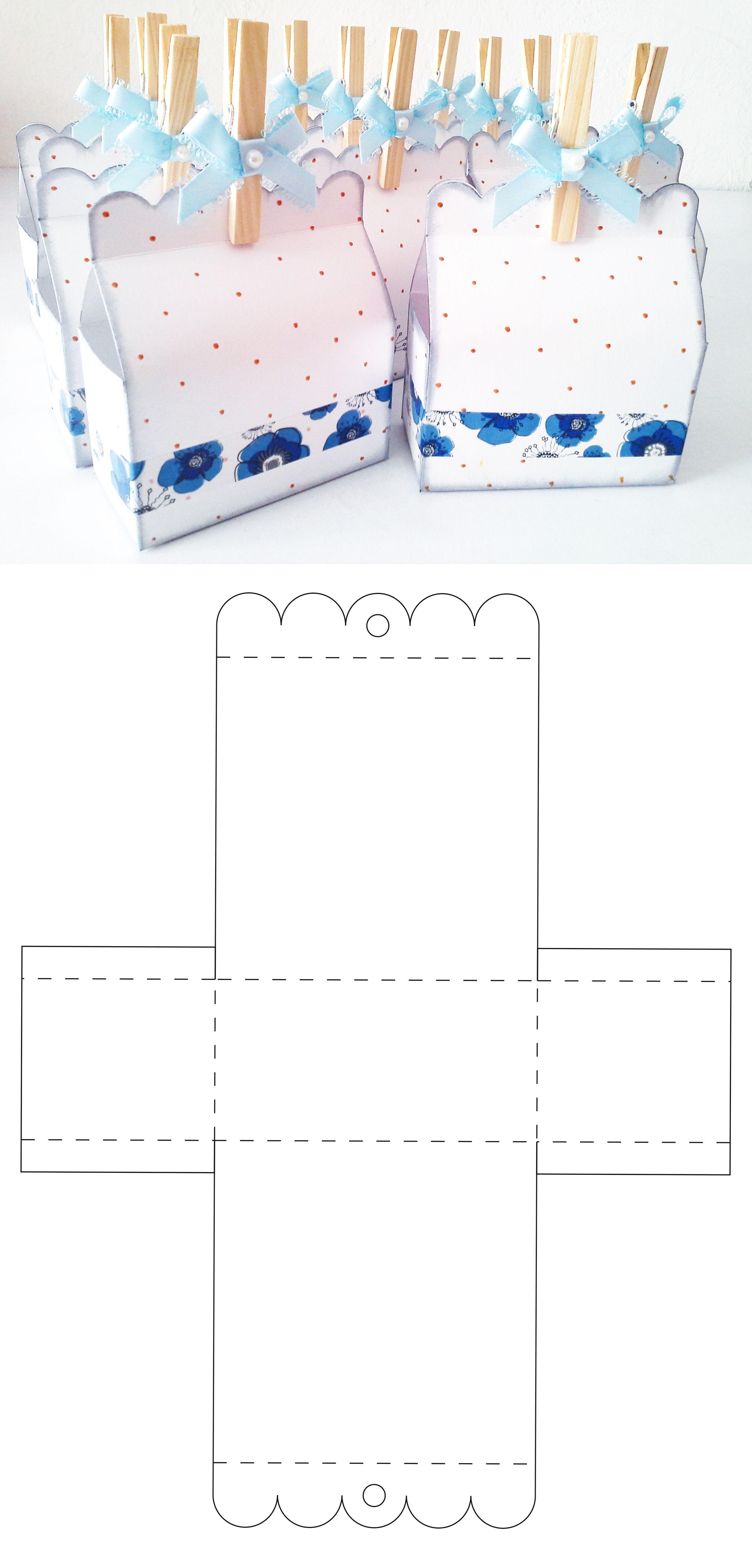 Caja Para Dulces Y Candybar Caja De Regalo De Bricolaje Plantilla Para Caja De Regalo Moldes De Caja