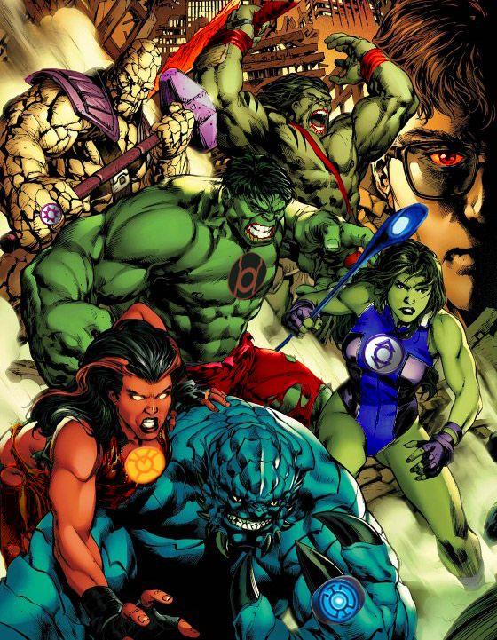 hulk lanterns could you just imagine geek pinterest blue