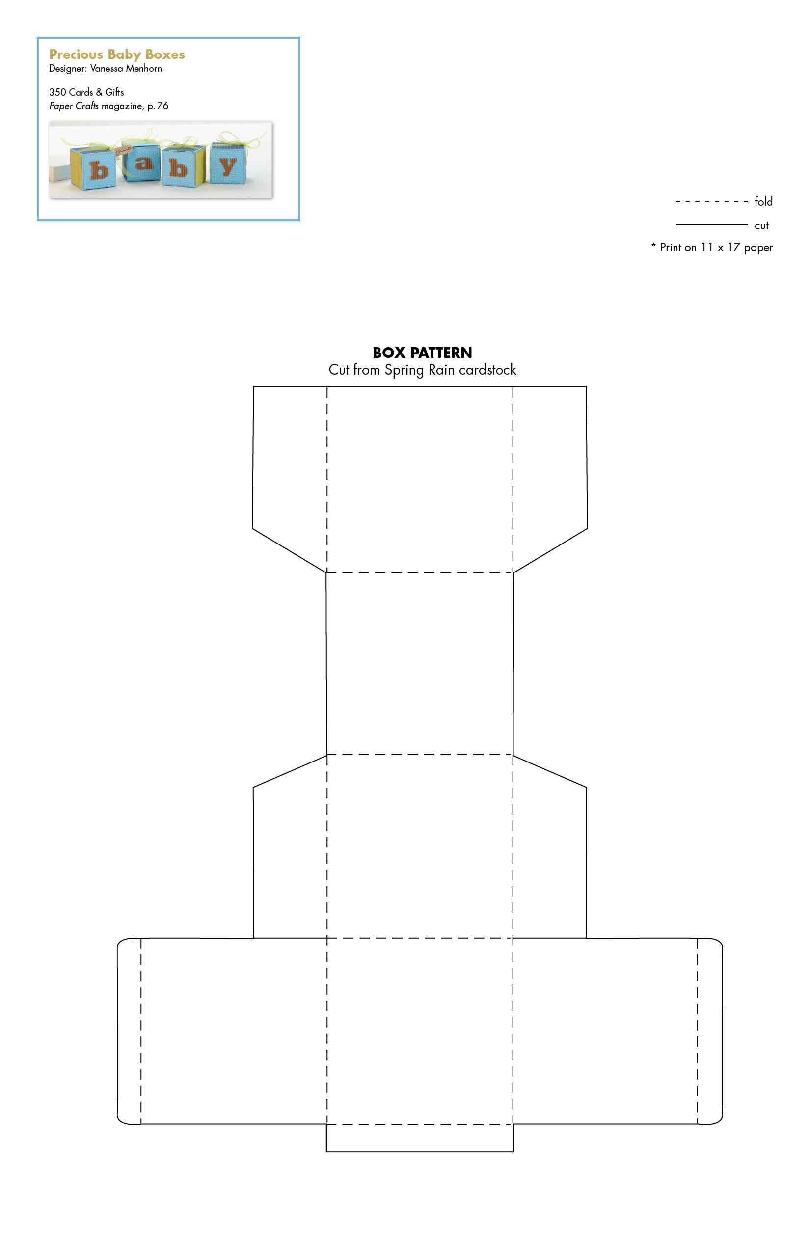 Precious_Baby_Box_Set.jpg 1.650×2.550 píxeles. Paper Crafts MagazineBaby BoxGift ...  sc 1 st  Pinterest & Precious_Baby_Box_Set.jpg 1.650×2.550 píxeles | Free templates 3D ... Aboutintivar.Com