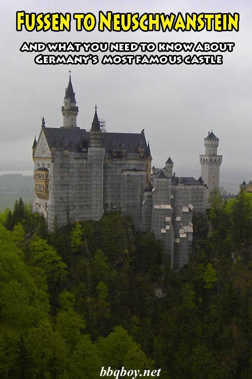 How to get from Fussen to Neuschwanstein. And here's an unpopular thought - is Neuschwanstein worth the visit? That and more in this post #bbqboy #Neuschwanstein #Fussen #Germany #travel