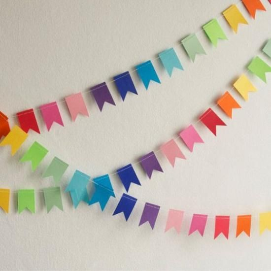Photo of Recycling for Handmade Garlands, 15 Brilliant Home Decorating Ideas