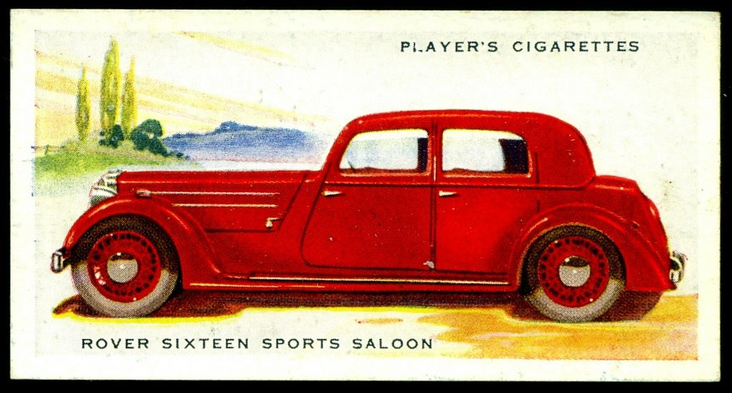Cigarette Card - Rover Sixteen, 1937 | Flickr - Photo Sharing!
