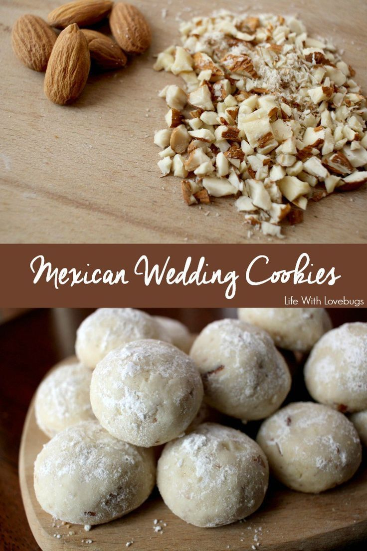 Mexican Wedding Cookies Recipe Mexican wedding cookies