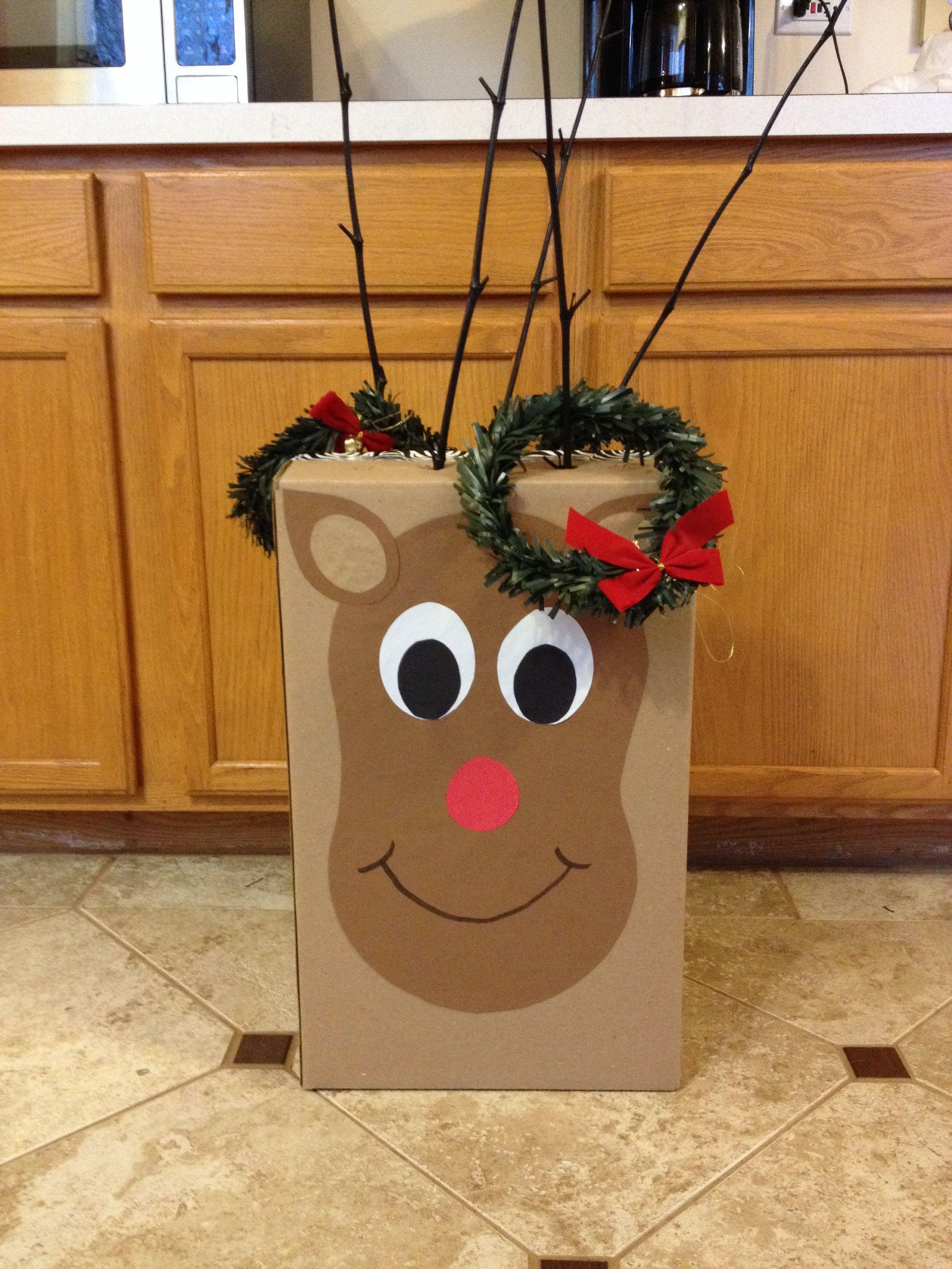 Reindeer Ring Toss Christmas Pinterest Actividades Para