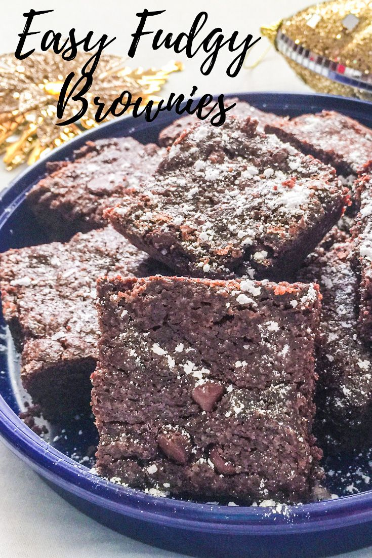 Easy Fudgy Brownies | THE MOMMY SPICE Easy Fudgy Brownies