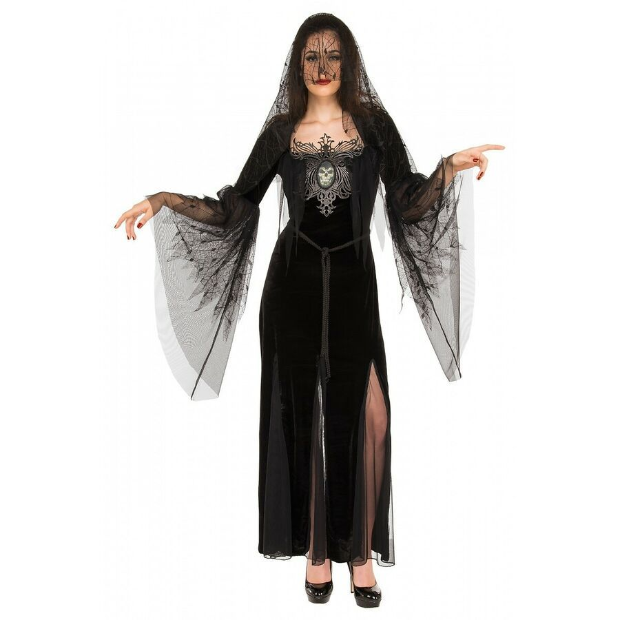 Mourning Maiden Costume Halloween Fancy Dress #Ad