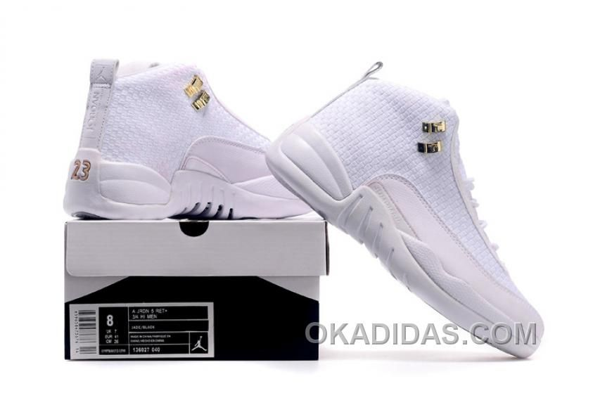 AIR JORDAN 12 FUTURE WOV WHITE 15LAB12