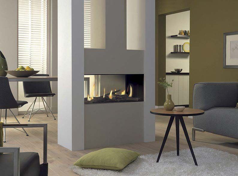 The Dru Metro Tunnel Balanced Flue Gas Fire Is The See Through Version Of  The Smallest