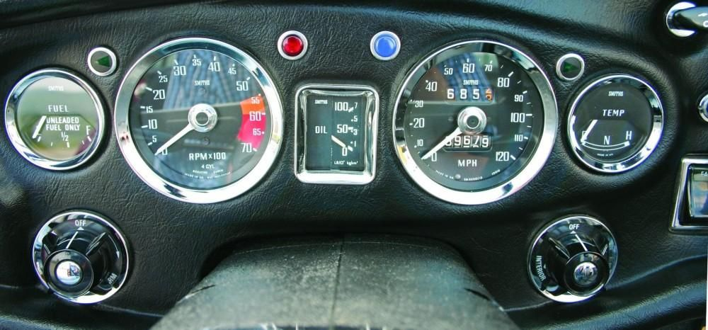 Smiths Gauges In The Dashboard Of A Mgb Gt Http Www Smiths Instruments Co Uk Blog History Of Smiths Gauges For The Mg 1966 Will Smith New Sports Cars Gauges