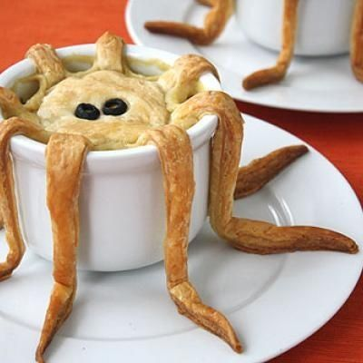 Octopus pot pie food pinterest pot pies pies and food ideas tentacle pot pie recipe tutorial surprise your kids with this fun dinner or really get them worried by telling them you will be serving octopus evil forumfinder Gallery