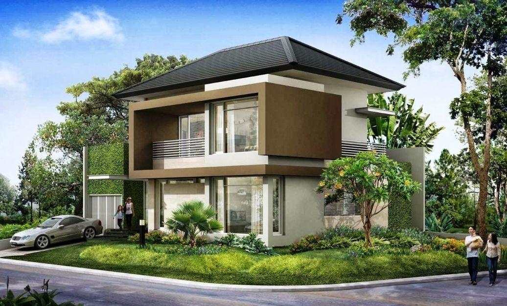 Desain Eksterior Rumah Mewah 1 Lantai  foto rumah mewah minimalis 1 lantai desain rumah minimalis