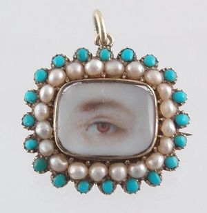 Georgian eye jewelry