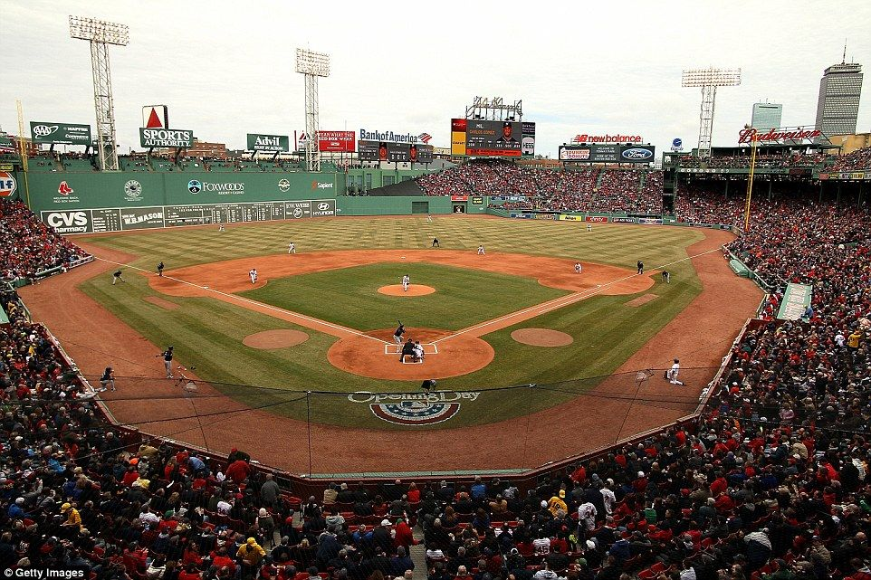Fenway Park: The home of the Red Sox first opened in 1912, and still has wooden seating in...