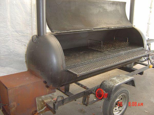 custom offset BBQ wood smoker | Wood smokers in 2019