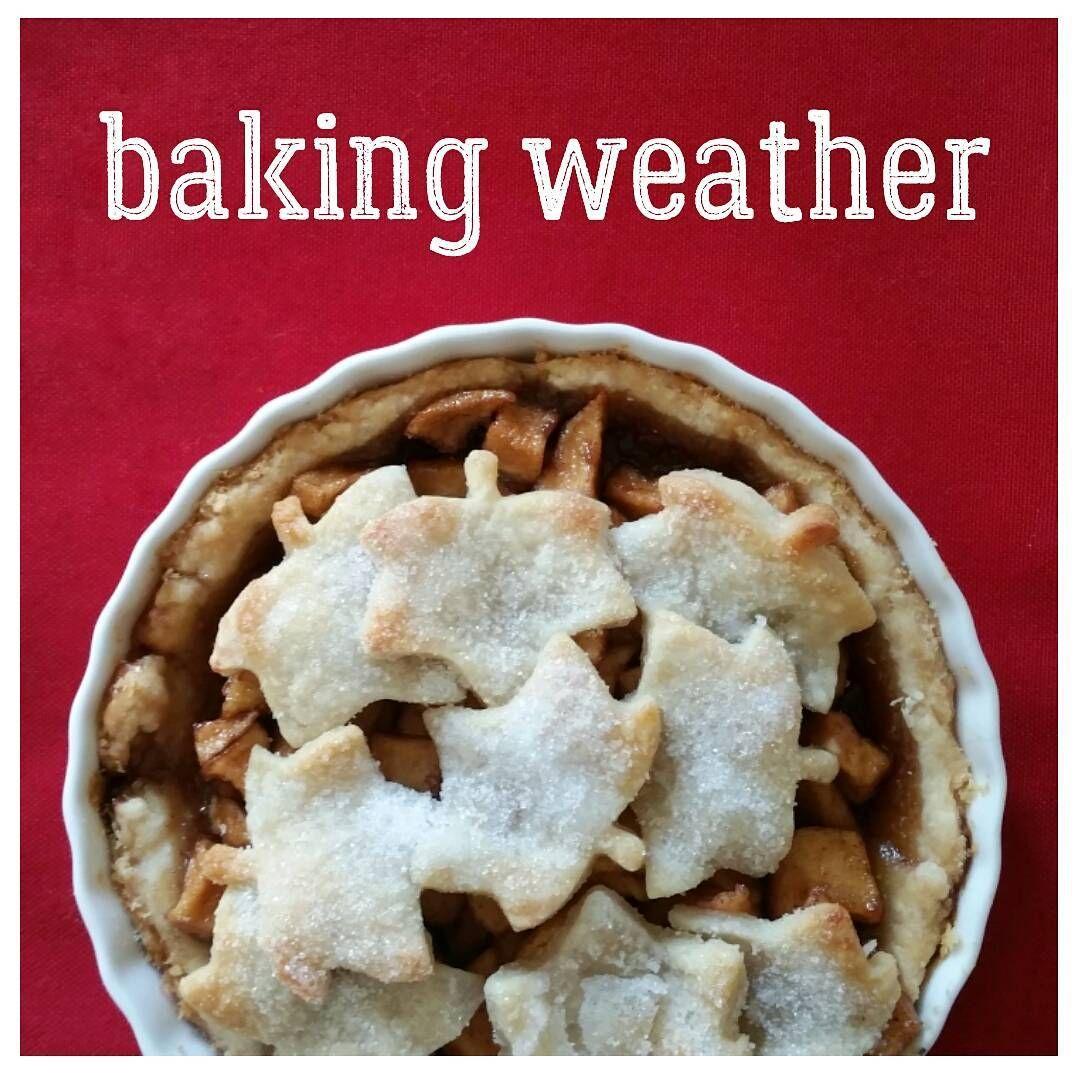 Finally! You ready @jillian_va?  . . . #bakingweather #bakingseason #applepie #apples #pie #baking #bakingtherapy #sweettooth #dessert #delicious #food #coldweather #leafs #autumn #fall