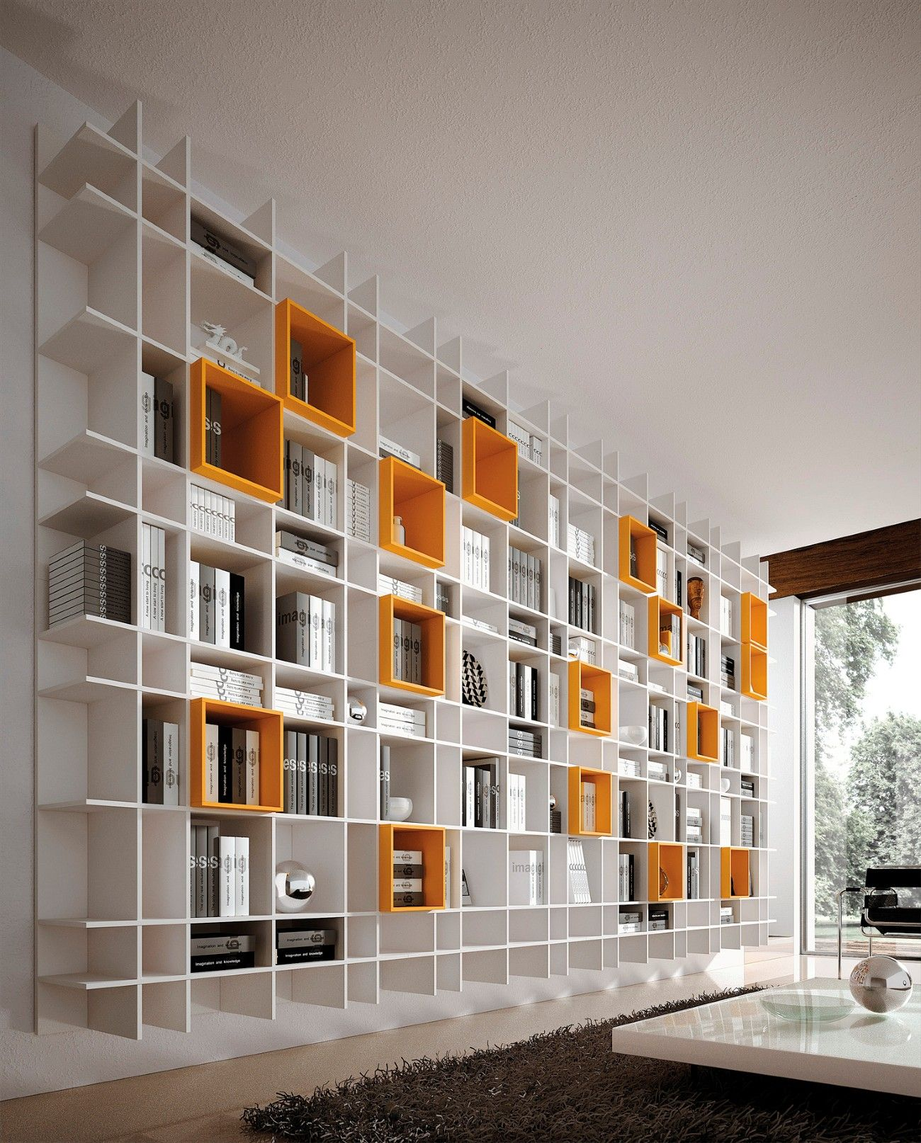 Living Bookcases Collection #Design #Book #Bookcases #Interior #Living #Collection #