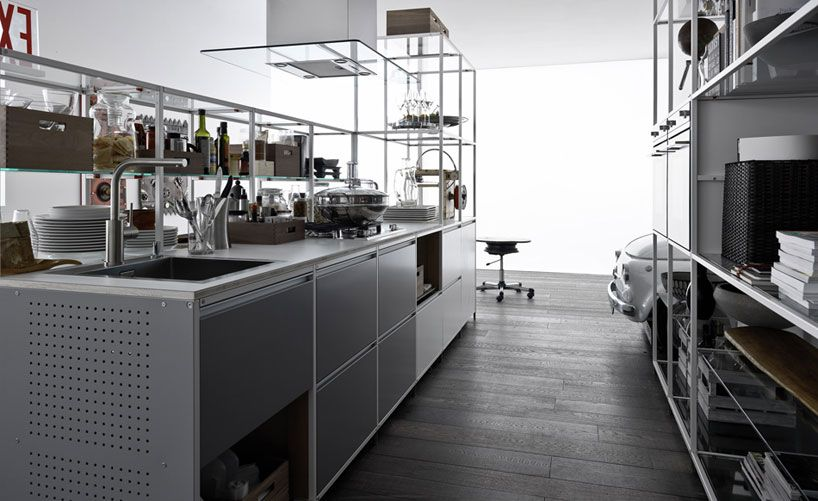 Perfekt Demode Meccanica Door System Engineered By Valcucine Designboom