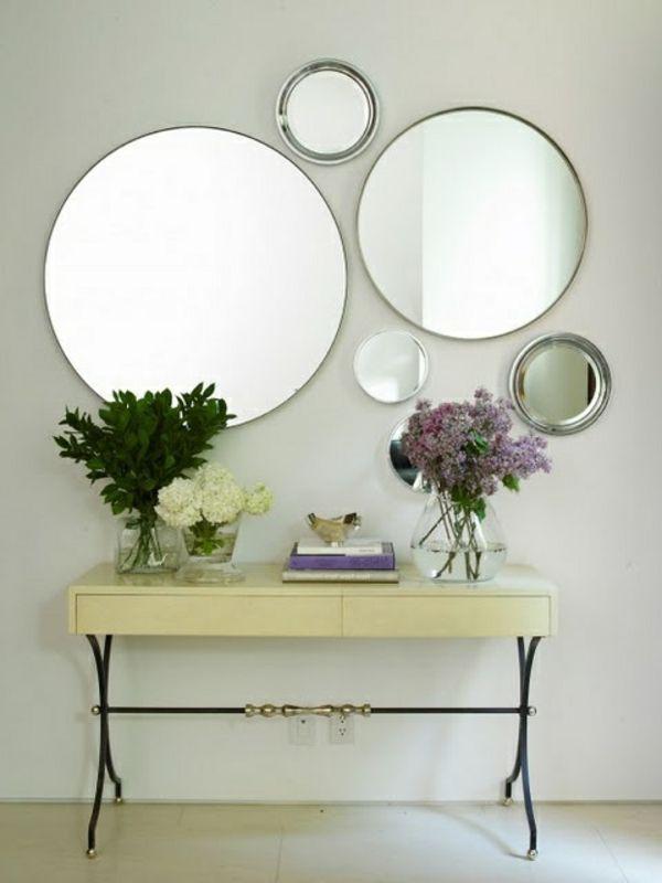 Runde Spiegel wandspiegel rund und schöne hinzufügung an der wand