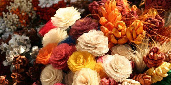 Creá tus propios arreglos con flores secas - flores secas