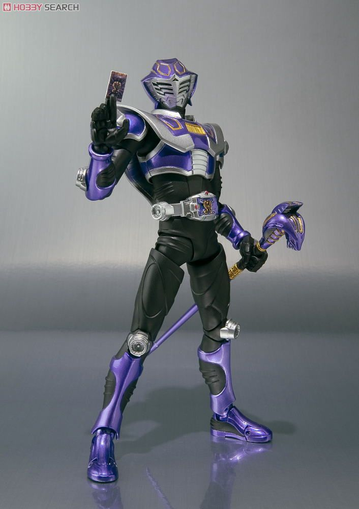 Used Bandai S.H.Figuarts Kamen Rider Abyss PVC From Japan
