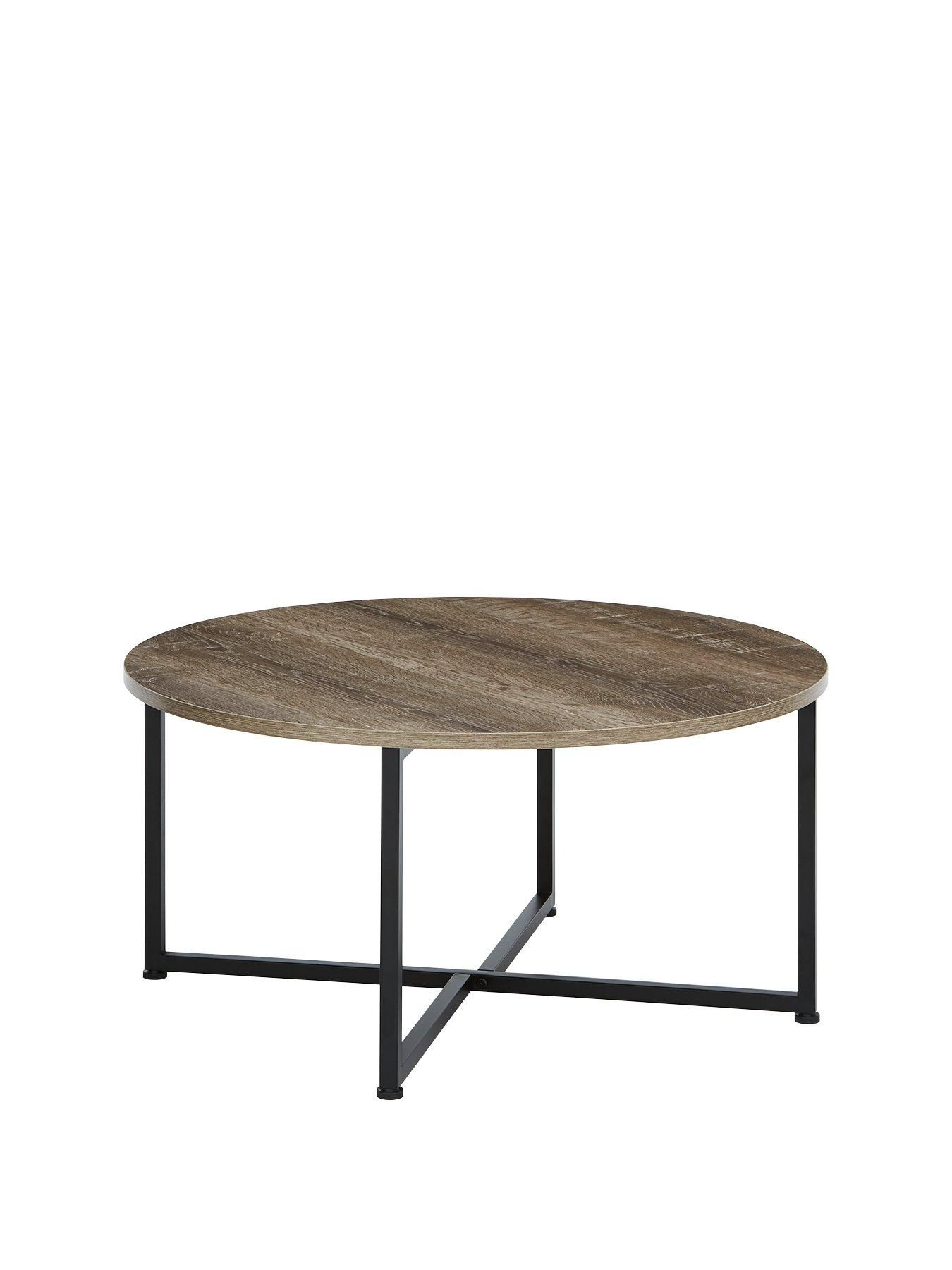 Telford Industrial Round Coffee Table Round Coffee Table Coffee Table Circular Coffee Table [ 1800 x 1350 Pixel ]