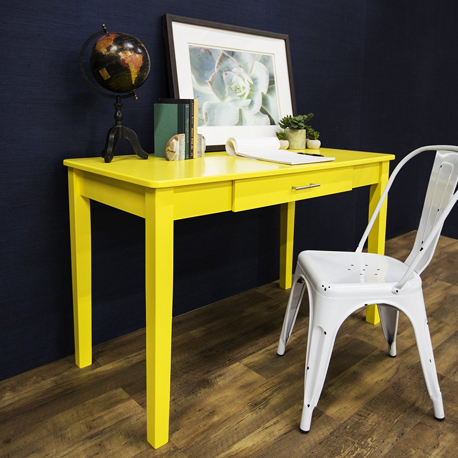 Little big life use yellow in your small home office it brings
