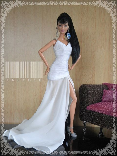 Lea in White Long Sheer Gown | Flickr - Photo Sharing!