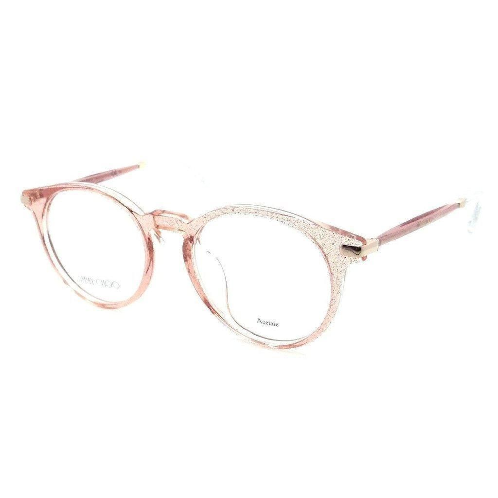 c1dd63cdf9 Jimmy Choo Rx Eyeglasses Frames JC 152 QAU 48-19-140 Red Glitter Made in  Italy