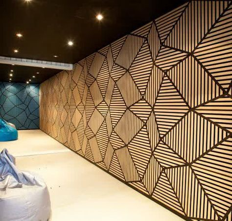 20 Modern And Trendy Soundproofing Into Your Room Барные стойки - contemporary wall paneling