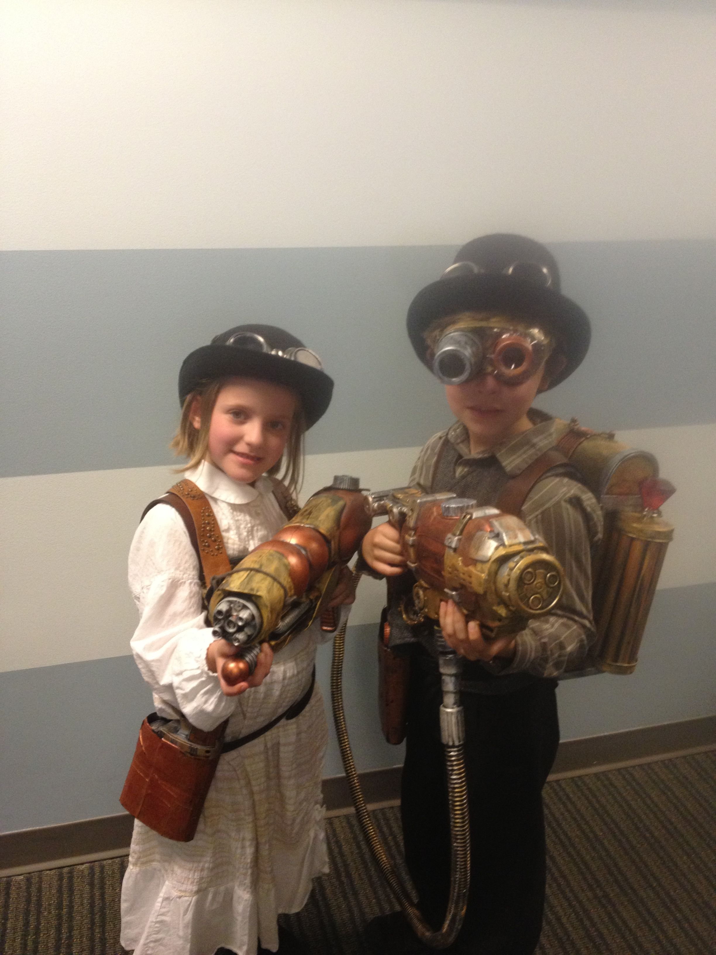 Halloween Could Find Steampunk Costumes For Kids So