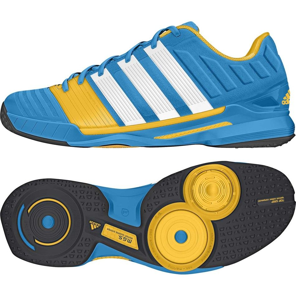 Adidas+AdiPower+11+Men's+Shoes+Solar+Blue. Squash ...
