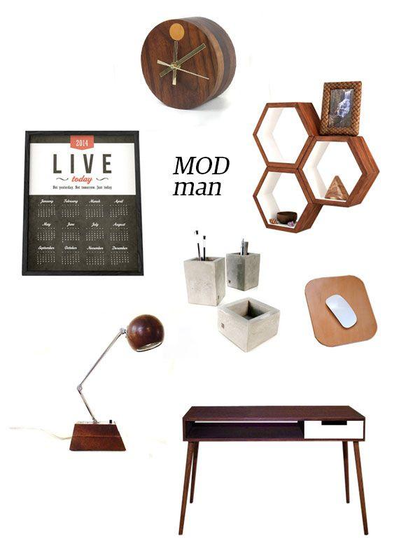 Dress Your Desk Desk Accessories Office Modern Home Office Desk
