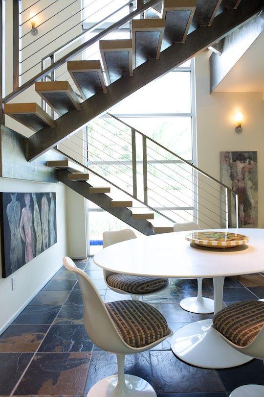 Fine Mod Imports Eero Saarinen Style Tulip Marble Table 48\