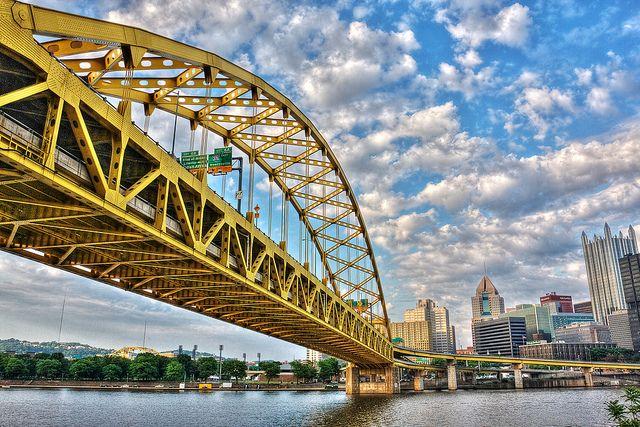 5.  Fort Pitt Bridge