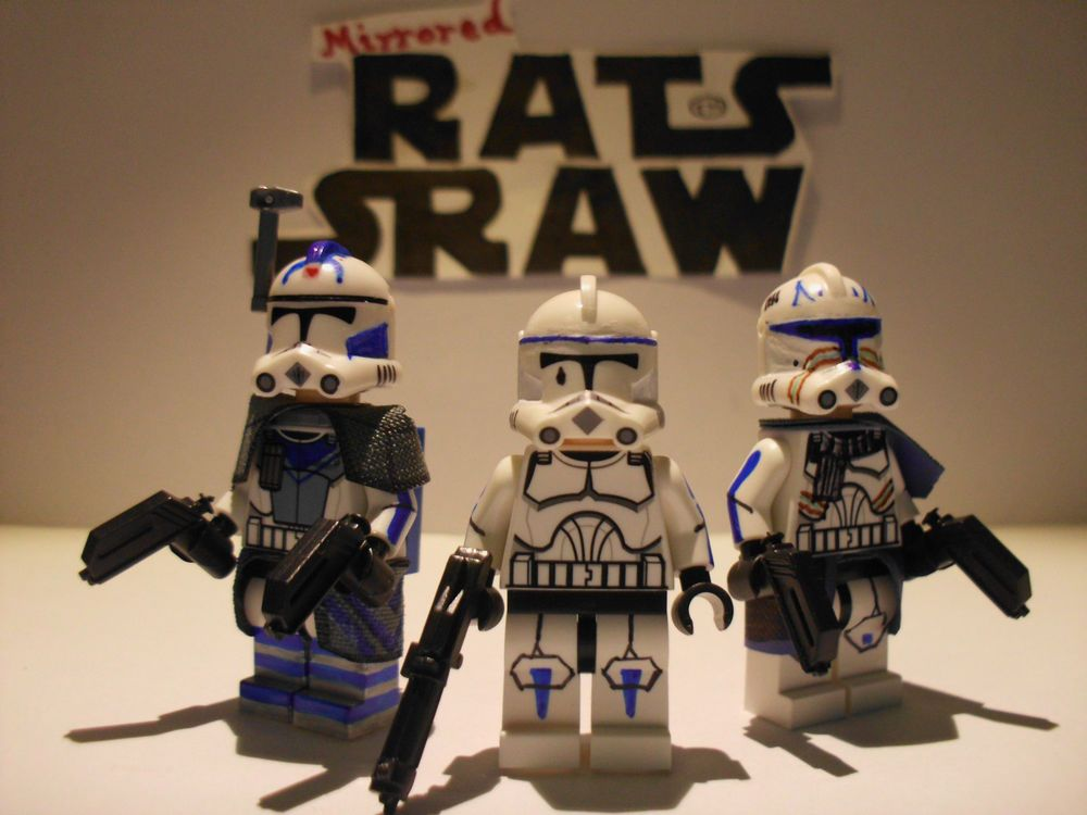 Lego Star Wars minifigure Clone Custom Troopers - The Unknown ...