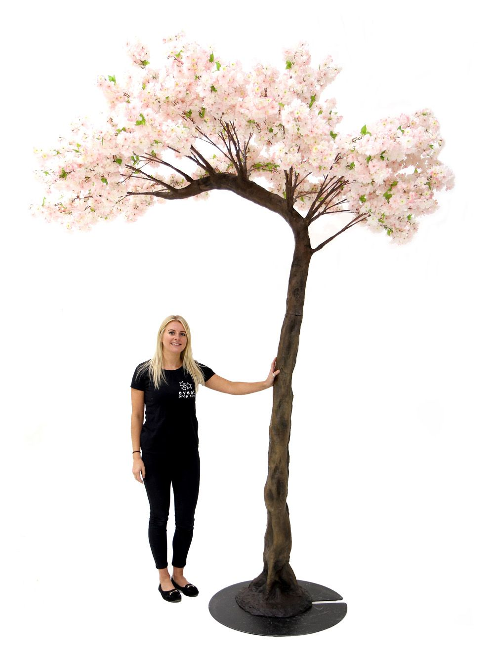 Pink Cherry Blossom Half Arch Tree 3 5m Event Prop Hire Event Props English Country Gardens Garden Party Theme