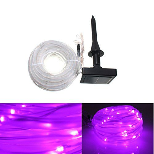 Light Ropes And Strings Solar Rope Lightssolmore 33Ft 100Leds Led String Lights Waterproof