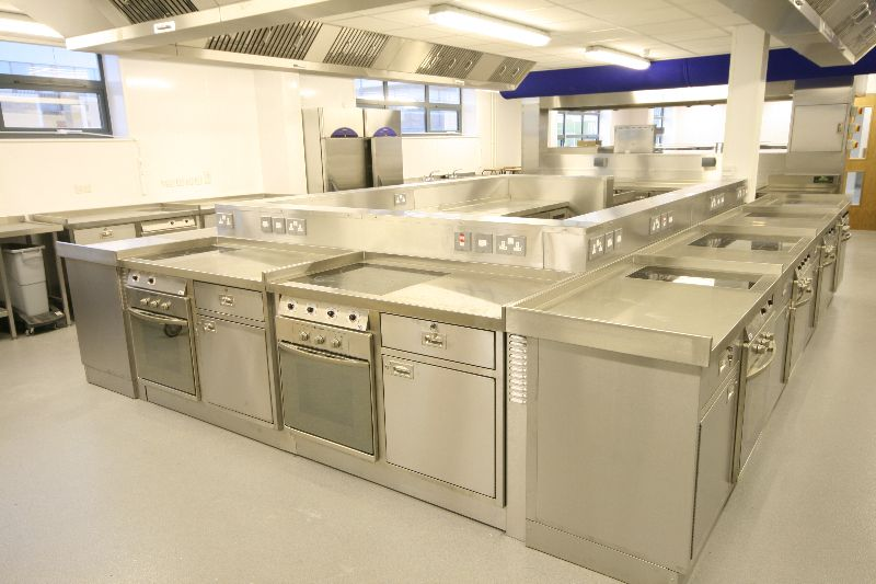 Launchpad Training College, Tewkesbury - Training Kitchen by