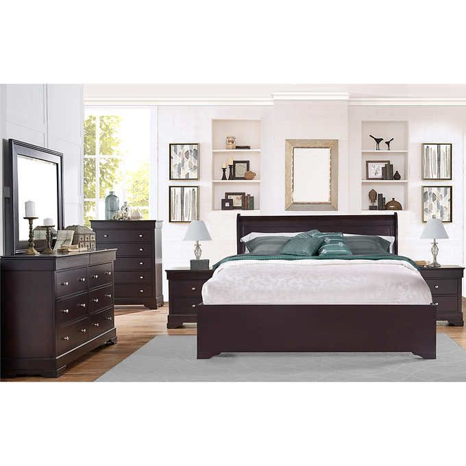Carolyn 6 Piece King Bedroom Set