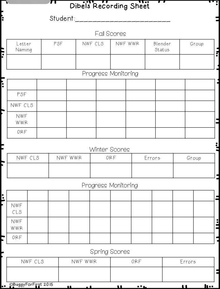 Parent Teacher Conference Forms Progress Report Forms