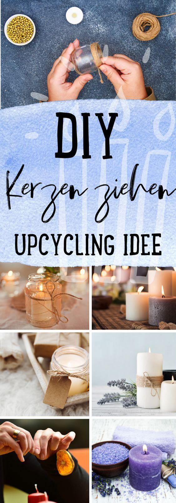 DIY Kerzen ziehen – Upcycling Idee – Gehscnkeidee DIY